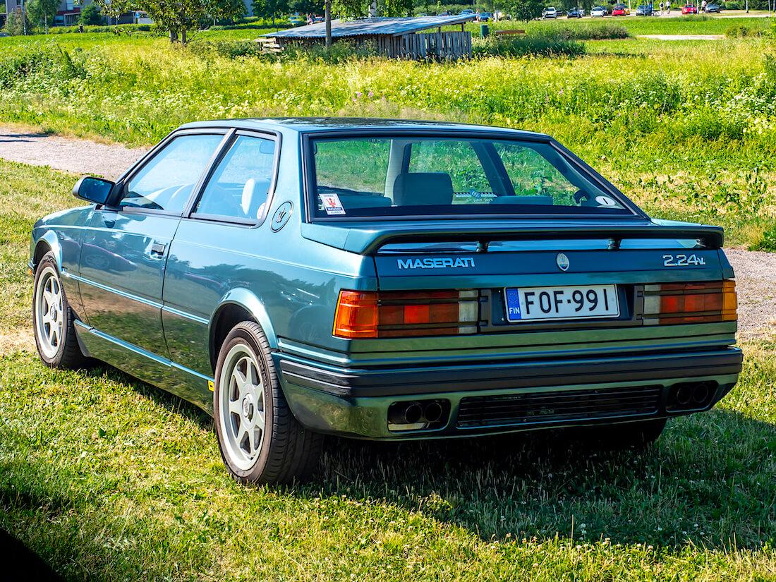 1996 Maserati 2.24v takaa