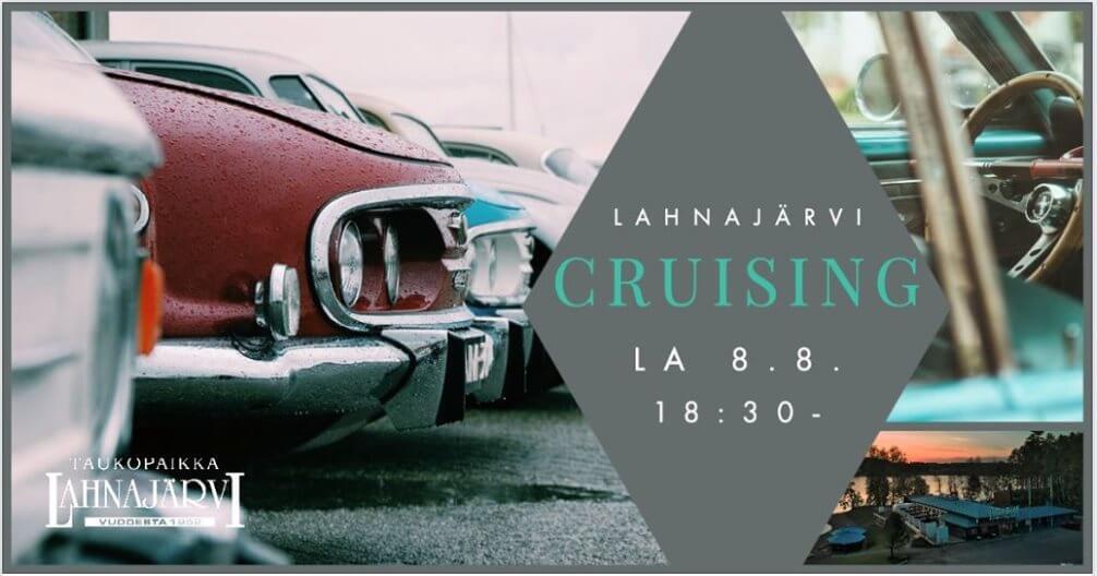 Lahnajärvi Cruising II mainosjuliste