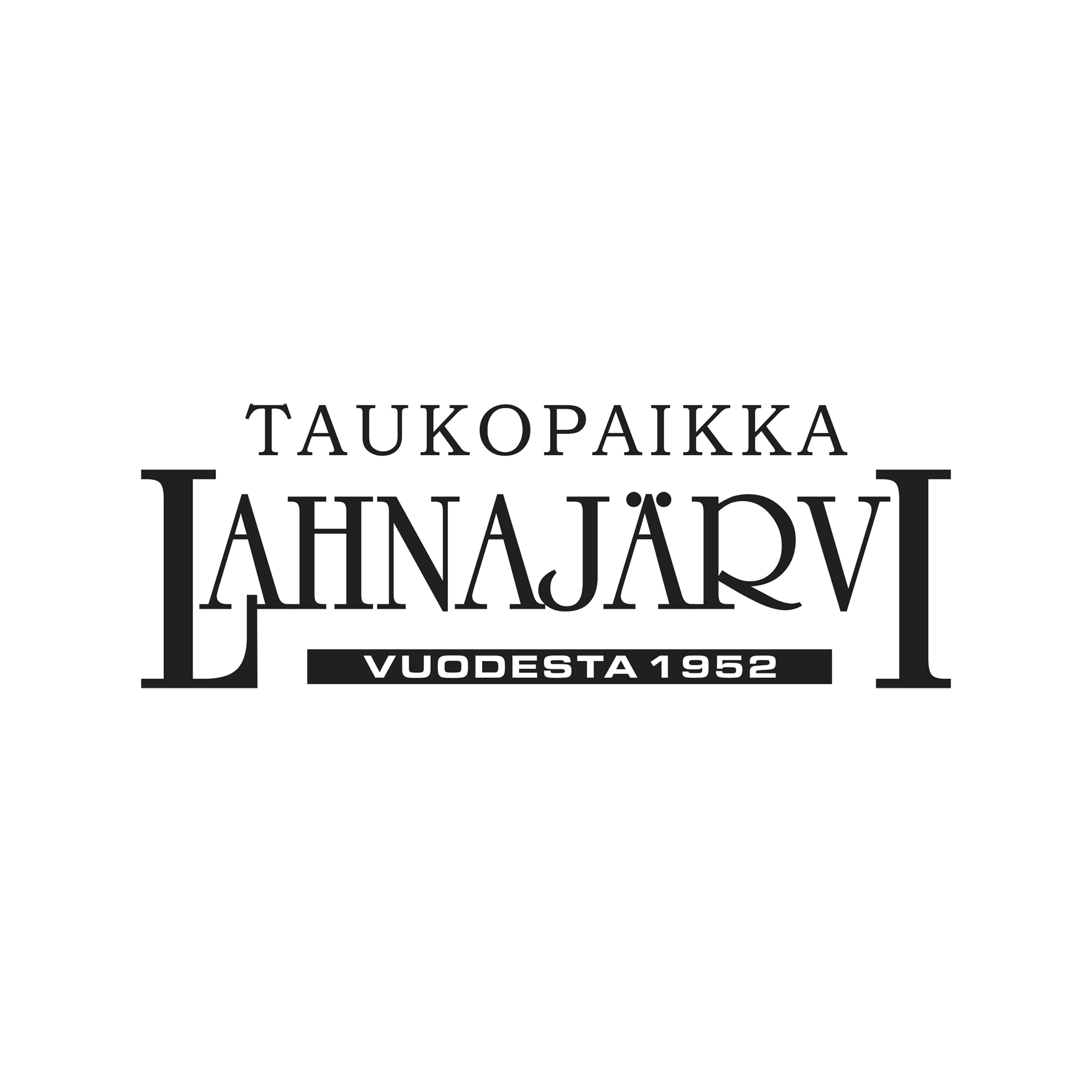 Taukopaikka Lahnajärven logo