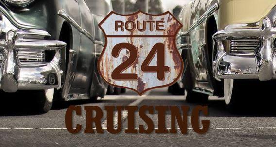 Route 24 maisemacruisingin logo
