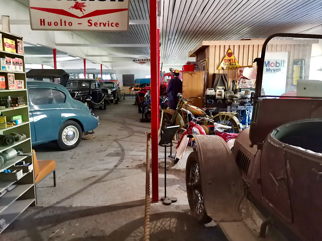 1911 Opel Torpedo Wanhassa automuseossa