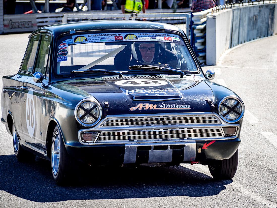 1965 Ford Cortina GT rata-auto Ahvenistolla