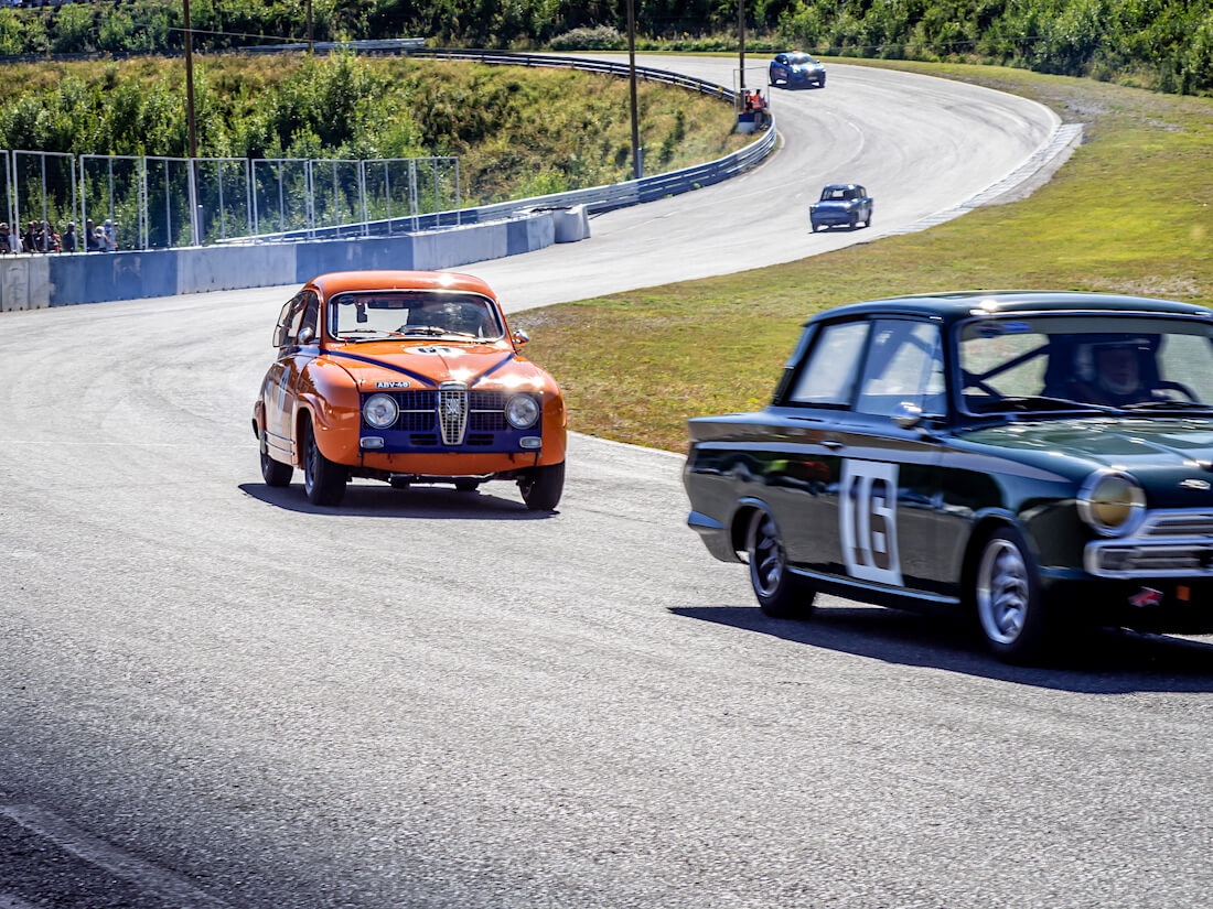 1965 Saab 96 Monte Carlo 850 Ahvenistolla