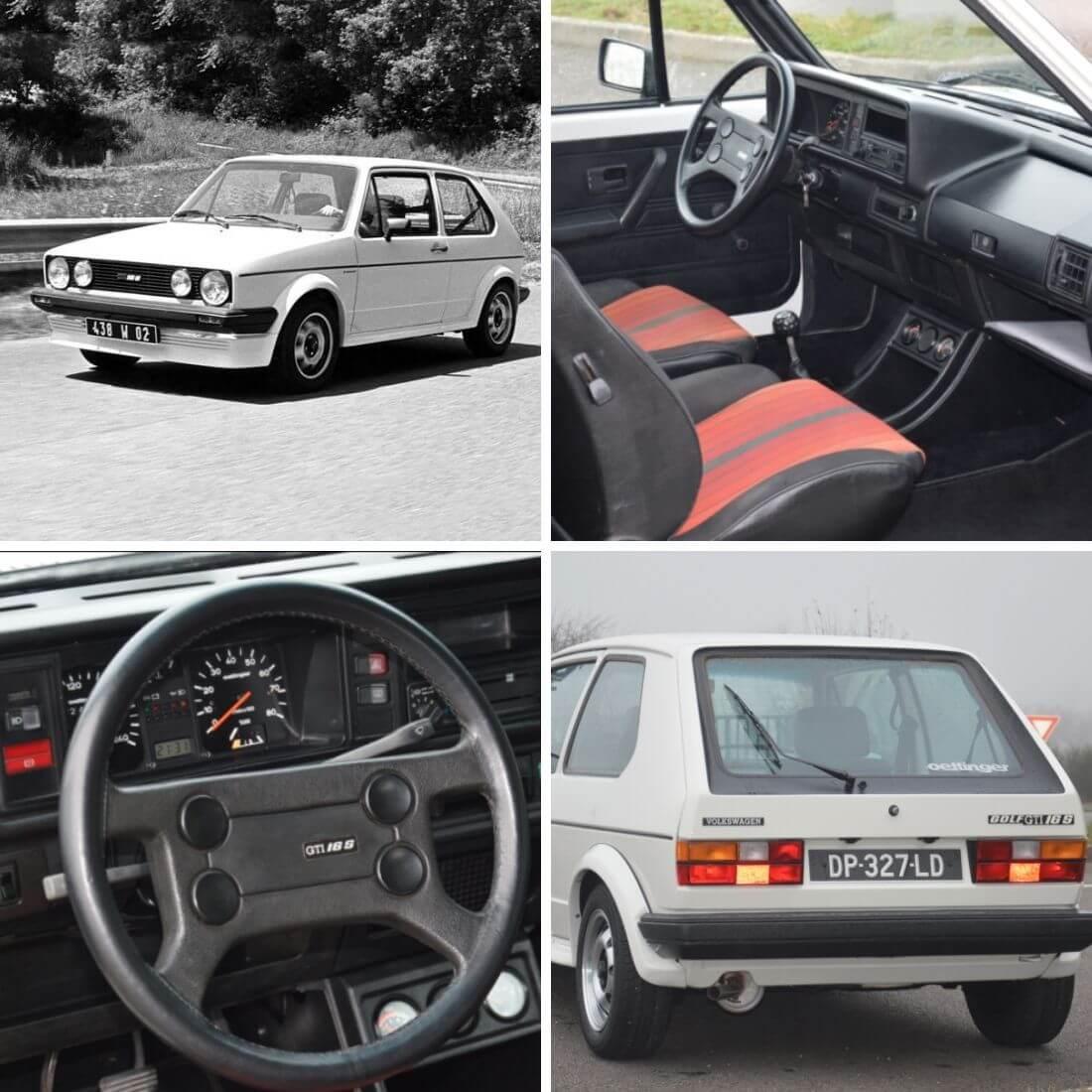 1981 Volkswagen Golf 16S kuvakollaasi