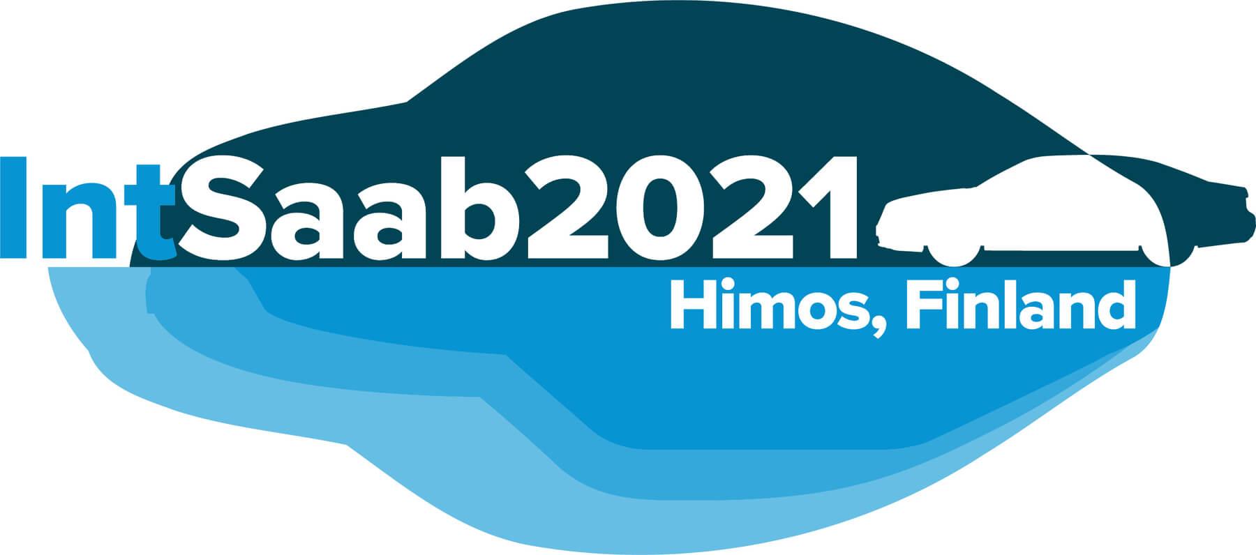 IntSaab 2021 Himos Saabisti-tapahtuman logo