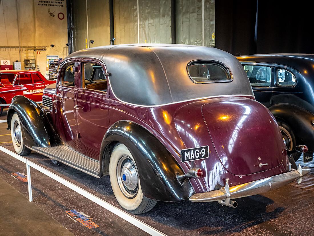 1939 Lincoln Judkins Berline V12 museoauto