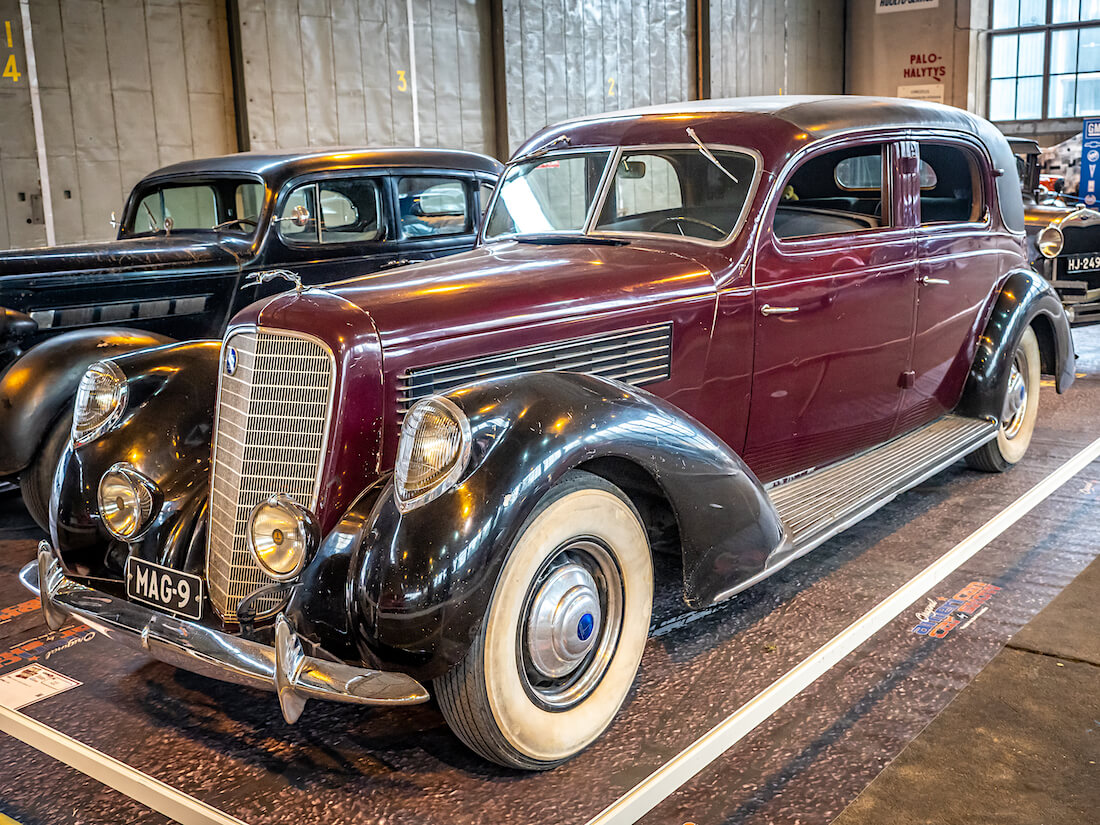 1939 Lincoln Judkins Berline V12