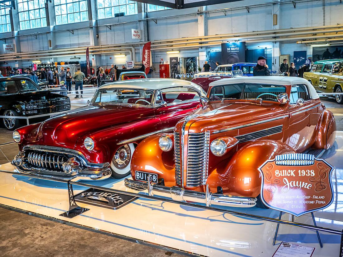 Garage Kings Suomi 1938 Buick avo-auto