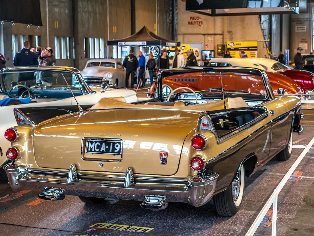 1955 Dodge Custom Royal Convertible takaa