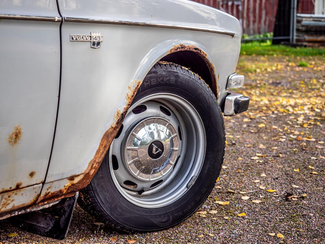 1971 Volvo 145 Express levitetty peltivanne
