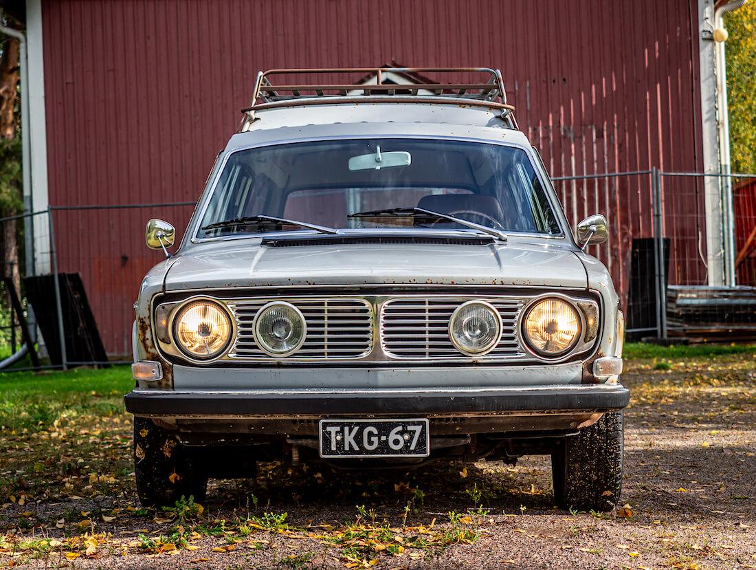 1971 Volvo 145 Express auton keula