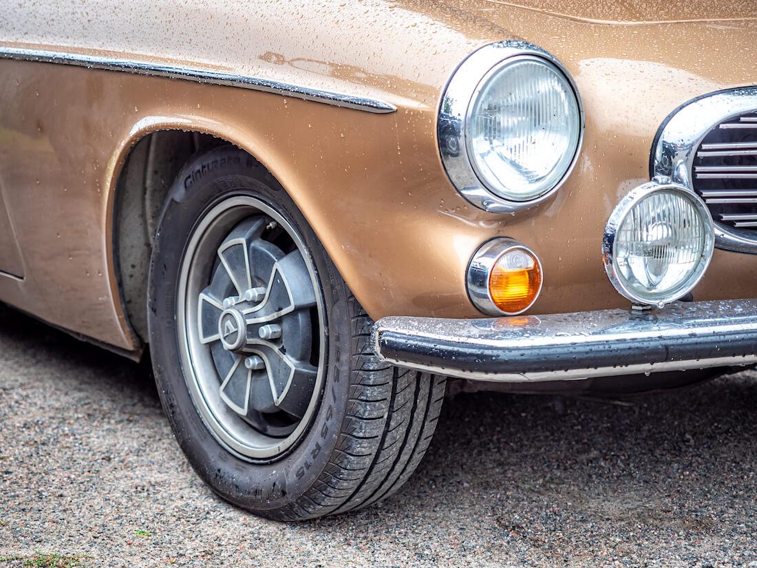 1971 Volvo P1800E apilavanteet