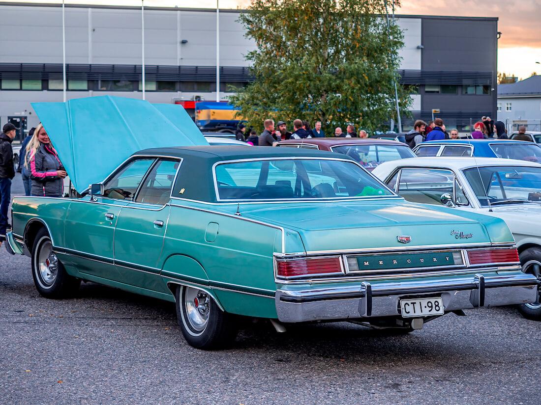 1977 Mercury Grand Marquis 460cid V8 luksusauto