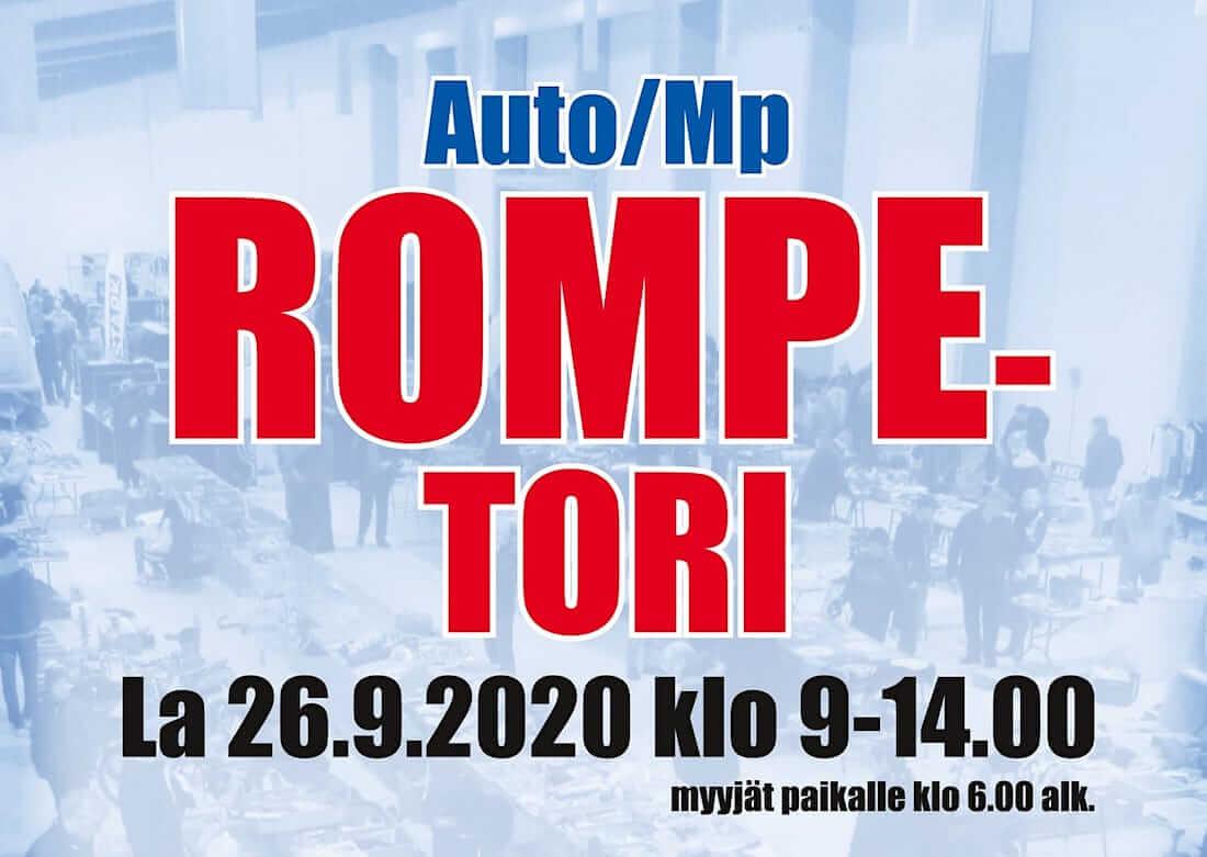 Etelä-Karjalan rompetori Viipurinportissa 2020 mainos