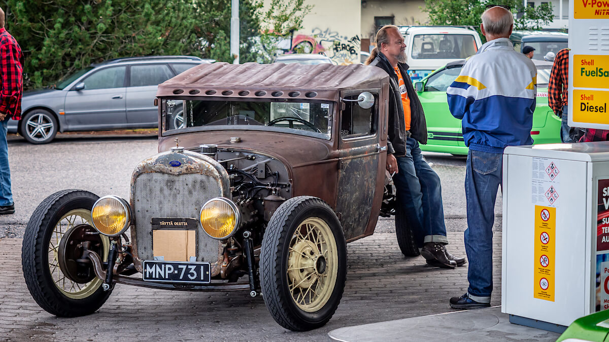 Ford rodi Rekola Cruising -tapahtumassa Vantaalla