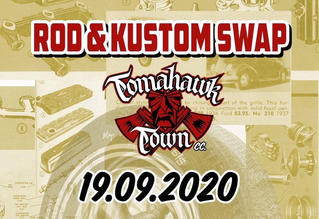 Tomahawk Town Rod&Kustom Swap syyskuussa 2020