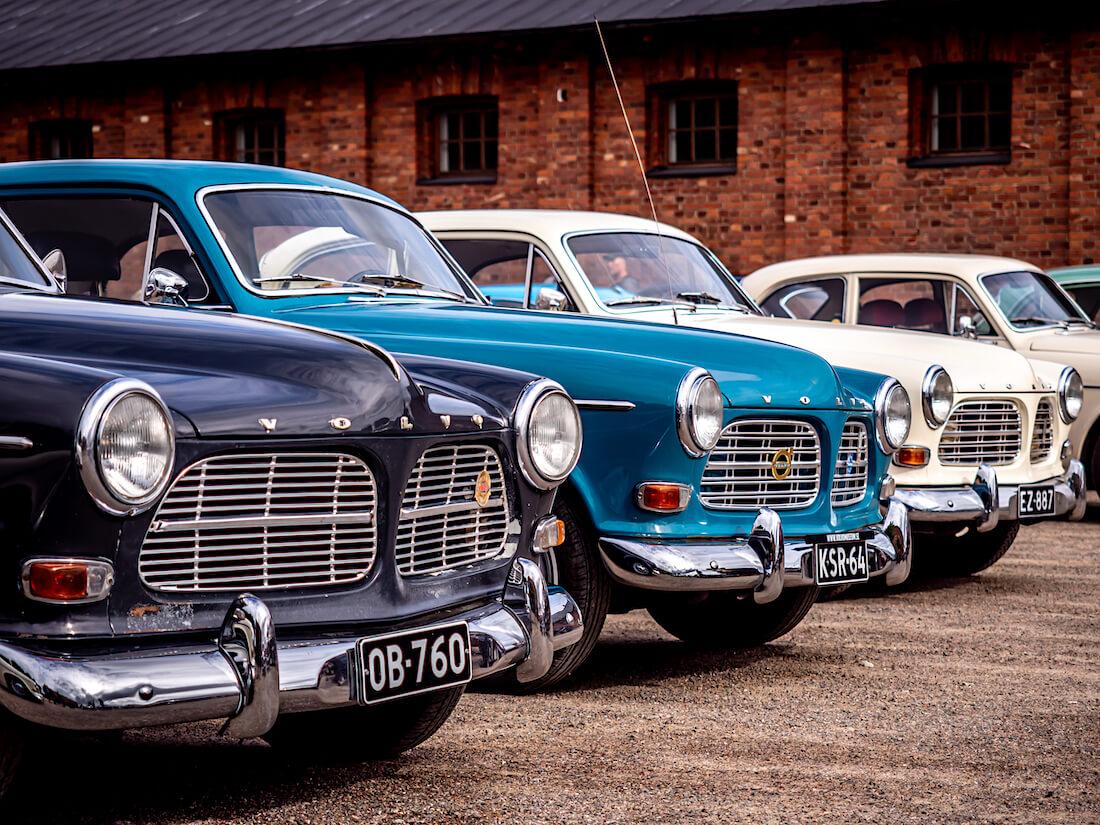 Volvo Amazon autoja Militaria-museolla