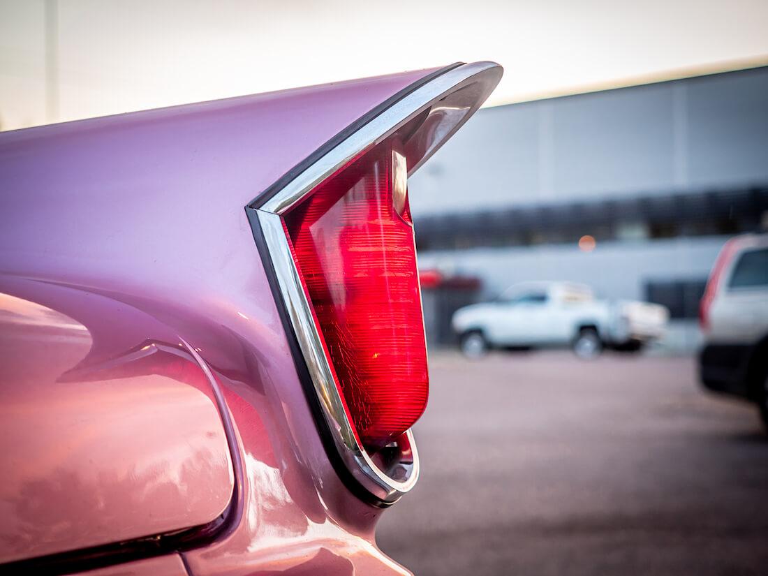 1959 Chrysler Windsor jenkkiauton takavalo