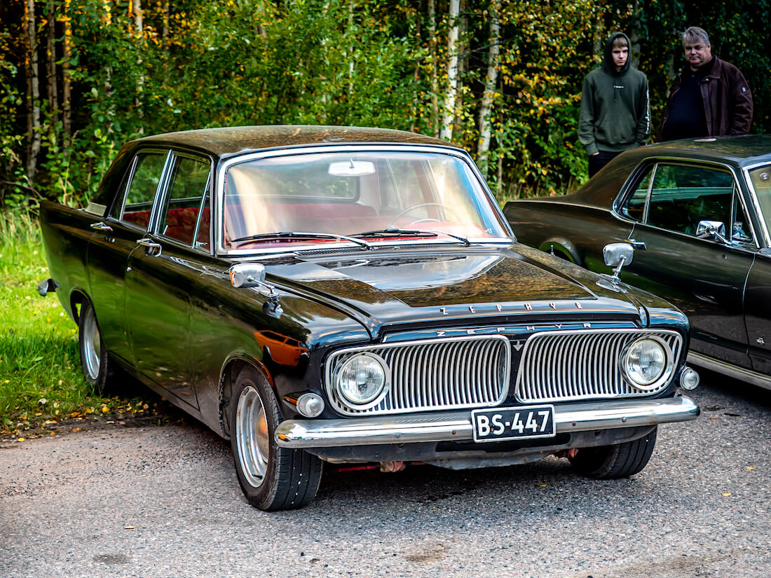 Musta 1963 Ford Zephyr 6 Mark III 2.6L