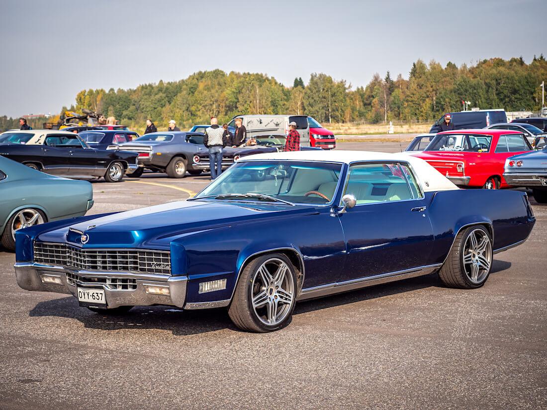 Jakke Vänskän 1967 Cadillac Eldorado Coupe Malmin lentoasemalla