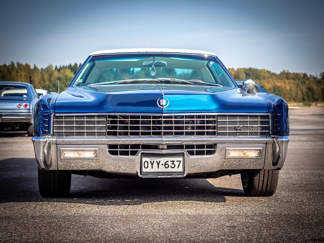 1967 Cadillac Eldorado V8 Coupe edestä