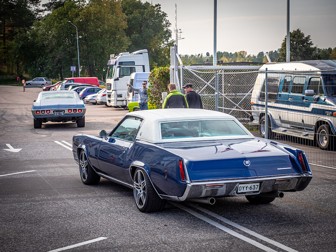 1967 Cadillac Eldorado Coupe jenkkiauto Helsingin Malmilla