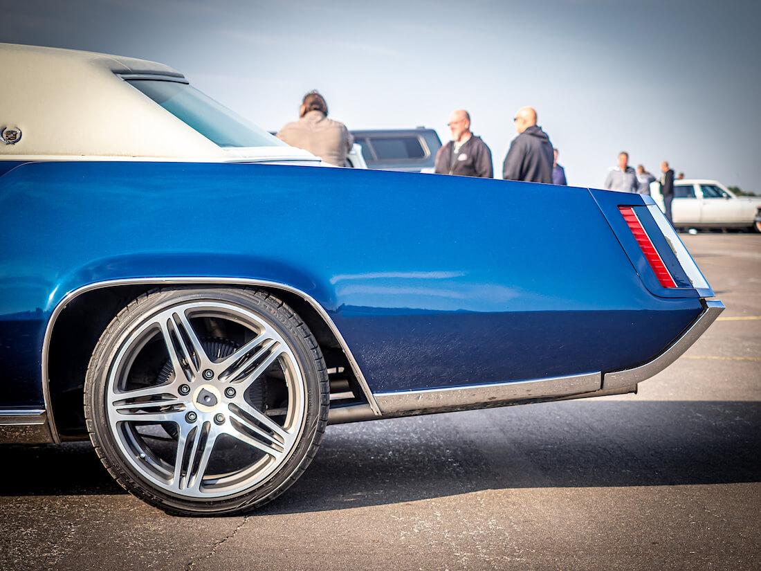 1967 Cadillac Eldorado Coupe takavanne ja perä