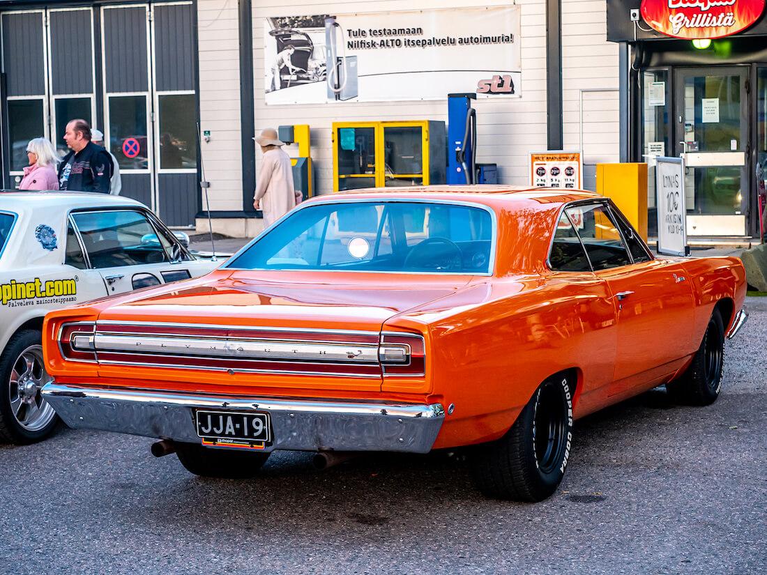 Oranssi 1968 Plymouth Road Runner 440cid 4bbl V8