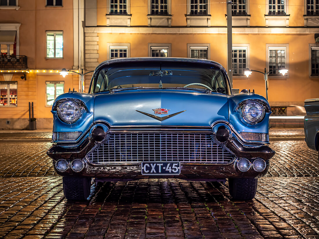 1957 Cadillac Eldorado Seville jenkkiauton keula