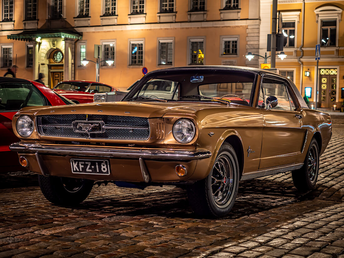 1965 Ford Mustang Coupe jenkkiauto