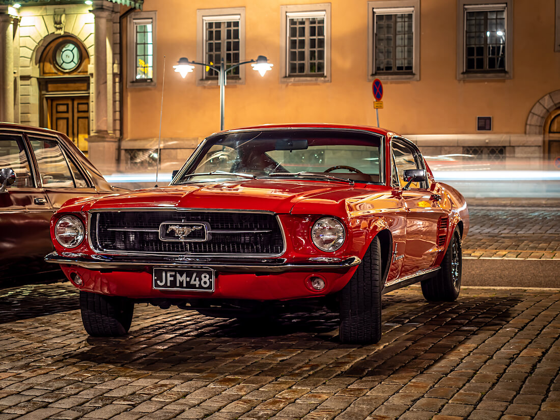 1967 Ford Mustang GT Fastback jenkkiauto