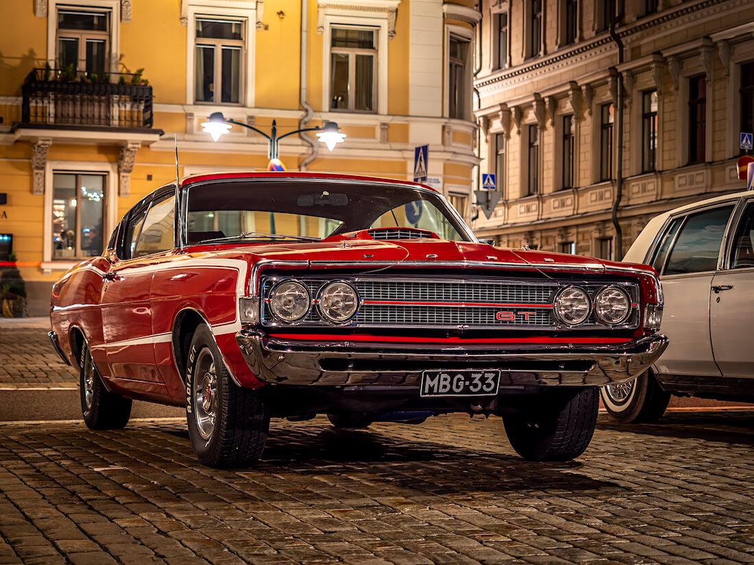 1968 Ford Torino GT jenkkiauto Stadissa
