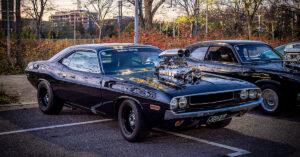 1970 Dodge Challenger 572cid supercharged V8 Vantaalla