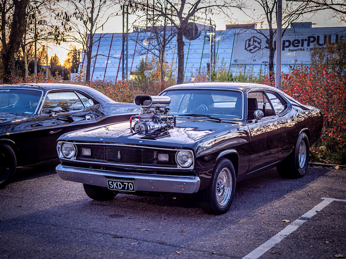 1970 Plymouth Duster Supercharged V8