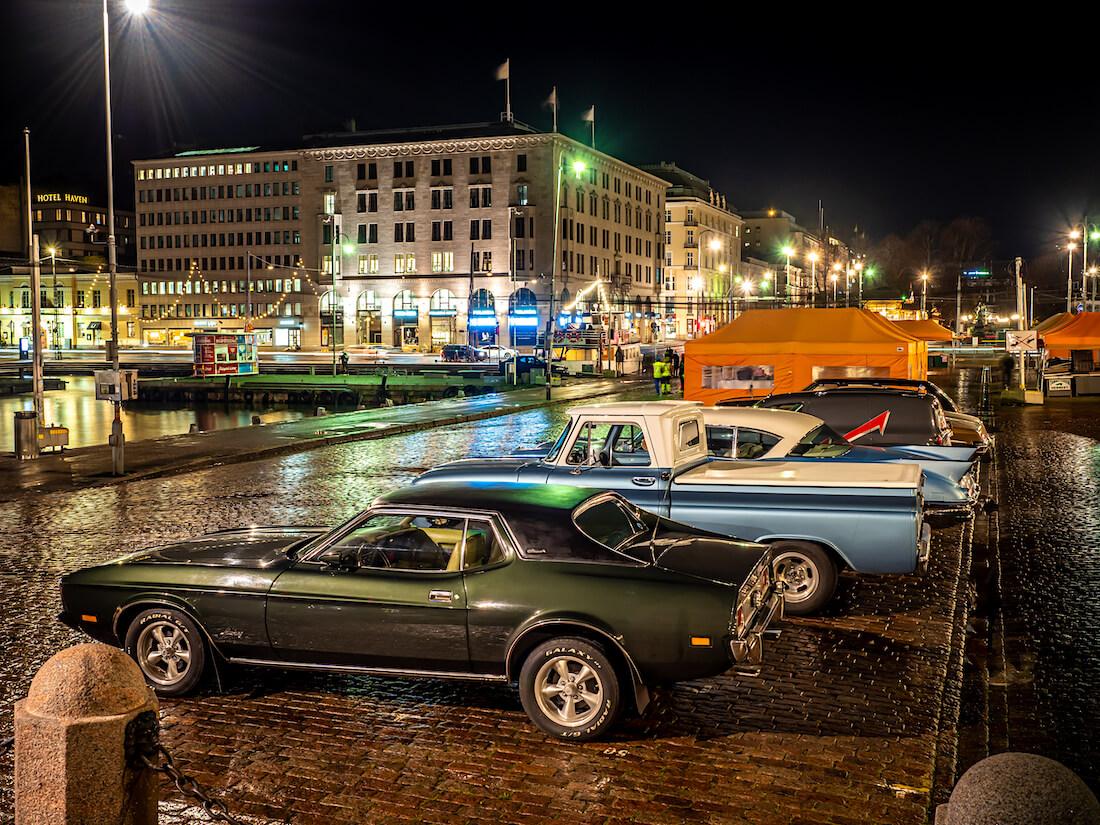 1973 Ford Mustang Grande 351cid Helsingin kauppatorilla