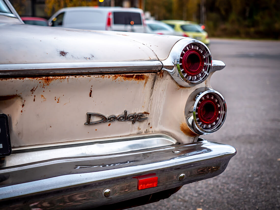 1962 Dodge Dart takavalot