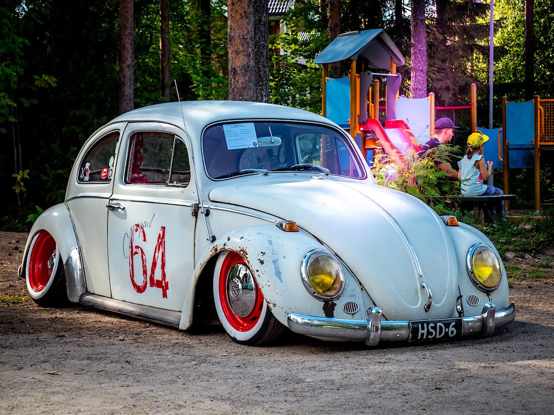 Tontitettu 1964 Volkswagen kuplavolkkari
