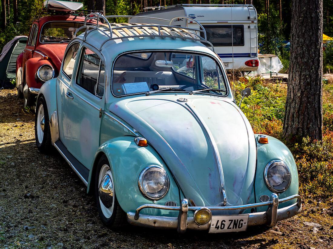 Virolainen 1965 Volkswagen VW1200 Bug In Finn tapahtumassa Sappeella