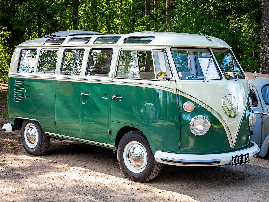21-ikkunainen 1966 Volkswagen junakeula sonderi