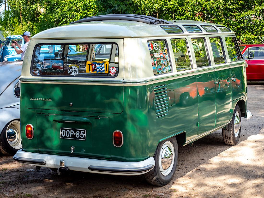 21-ikkunainen 1966 Volkswagen kleinbus sonderi