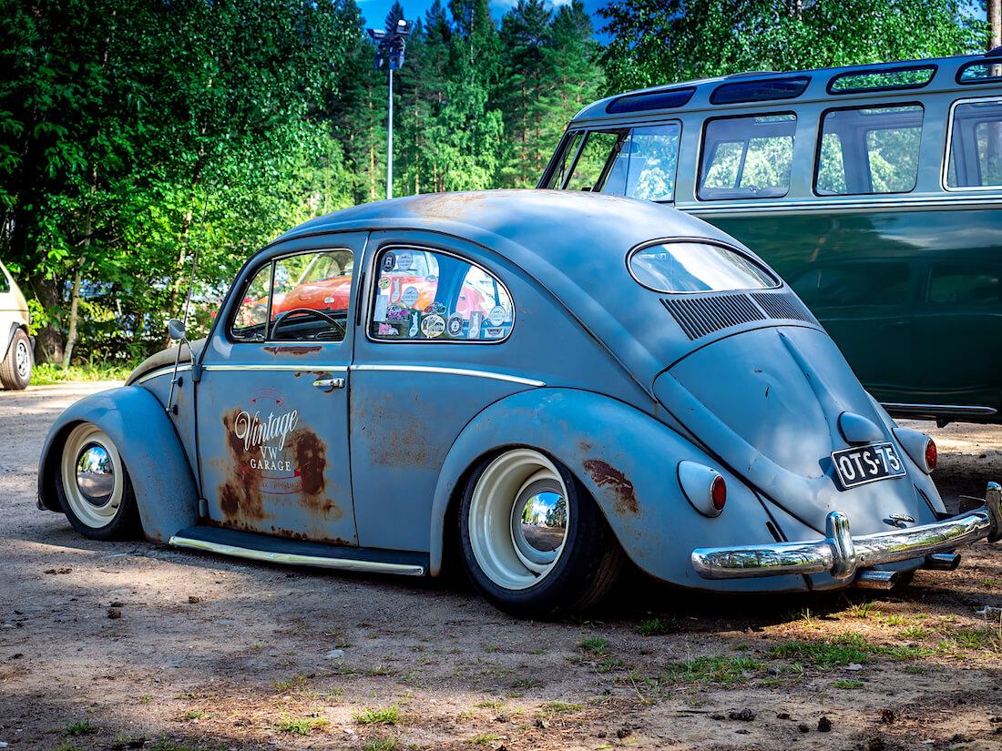 Madallettu Kokkolan Vintage VW garagen ovaalikupla