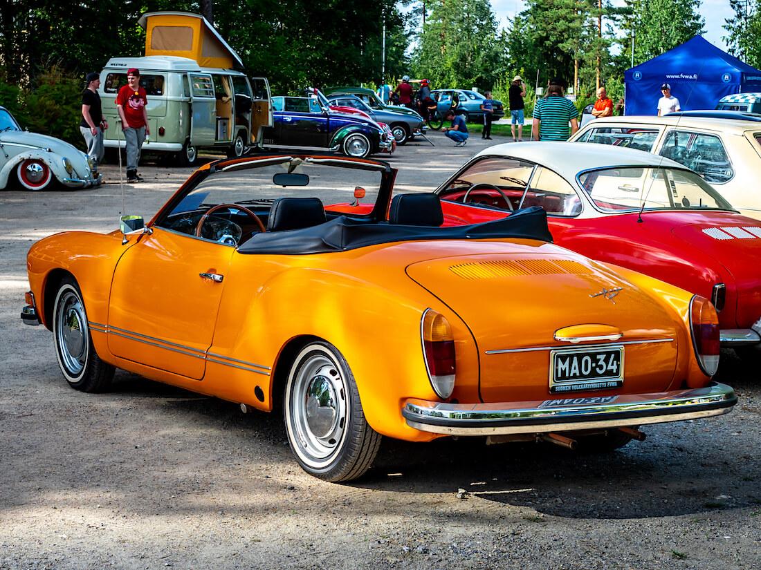 1974 Volkswagen Karmann Ghia convertible museoauto