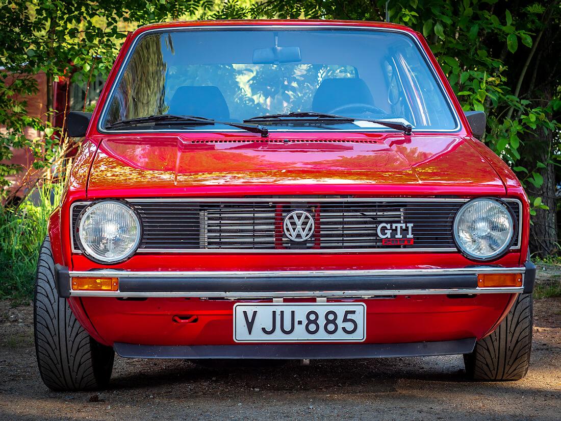1980 Volkswagen Golf Mk1 Turbo 20VT edestä