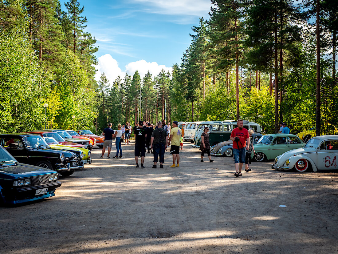 Näyttelyalue Bug In Finn 2020 tapahtumassa Sappeen hiihtokeskuksessa