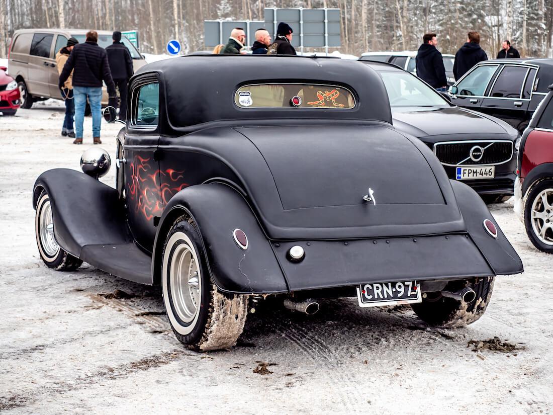 Musta 1934 Ford Model B 3window coupe rodi