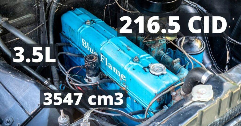 1952 Chevroletin 216.5cid kutoskone