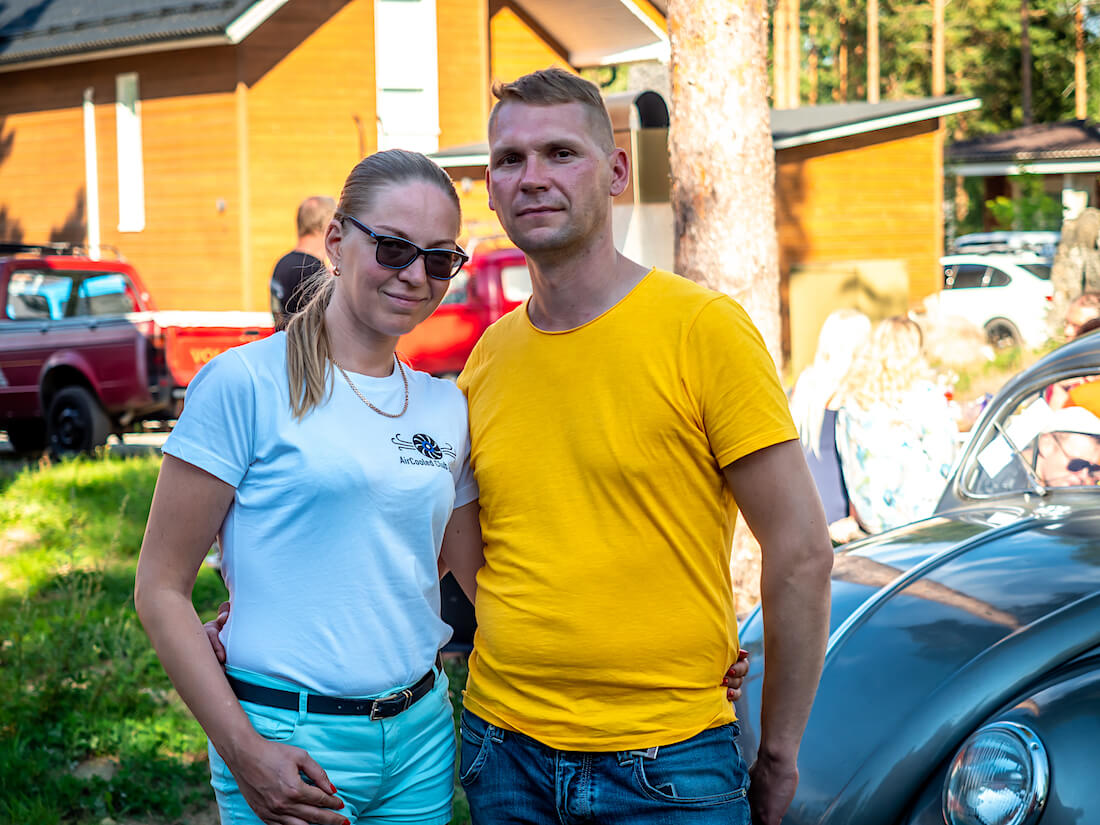 Marje Aasmets ja Silver Siipan