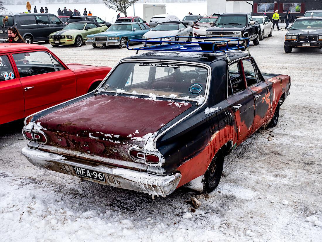 1966 Dodge Dart 4d Sedan 225cid Slant6-moottorilla