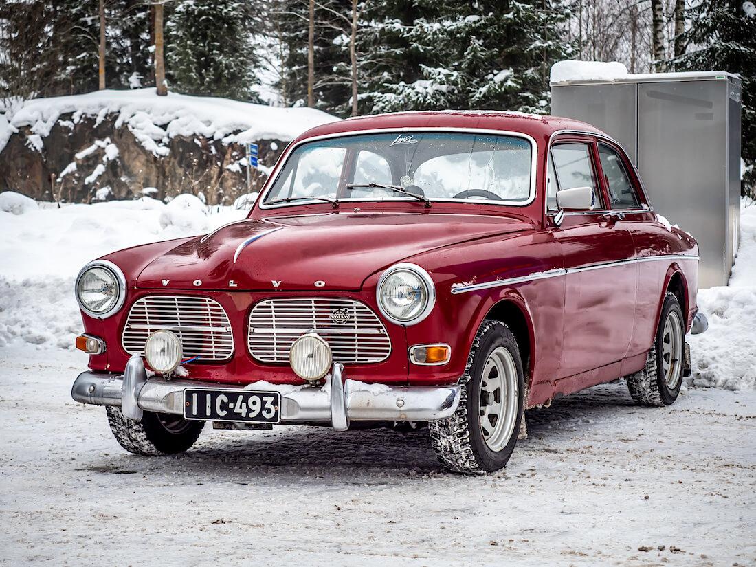 Punainen 1967 Volvo Amazon 2d Sedan