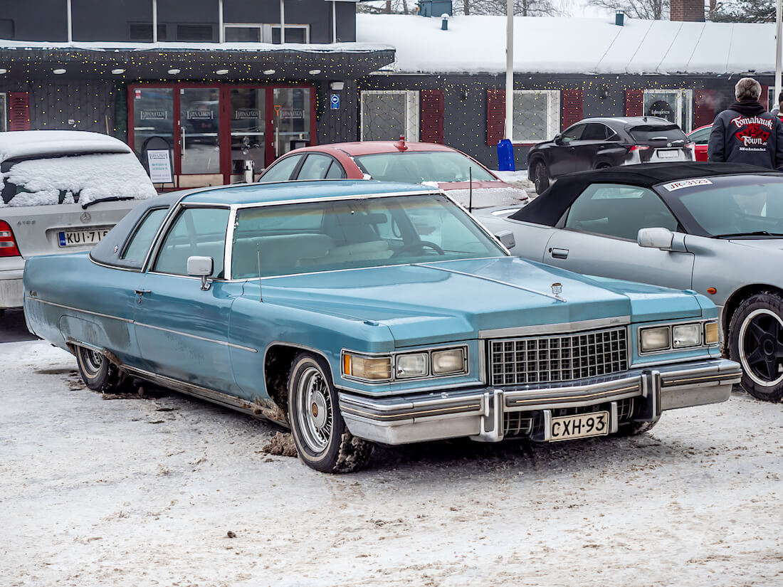 1976 Cadillac Coupe DeVille lowrider